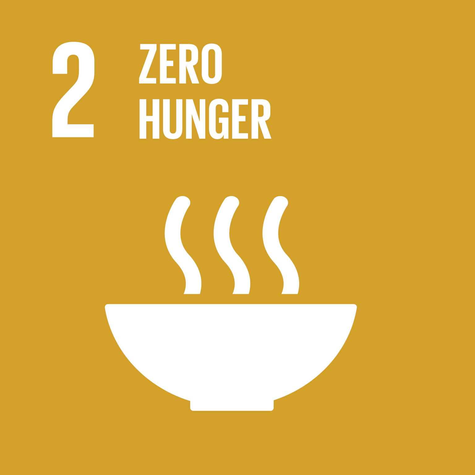 An image of UN Sustainable Development Goal 2