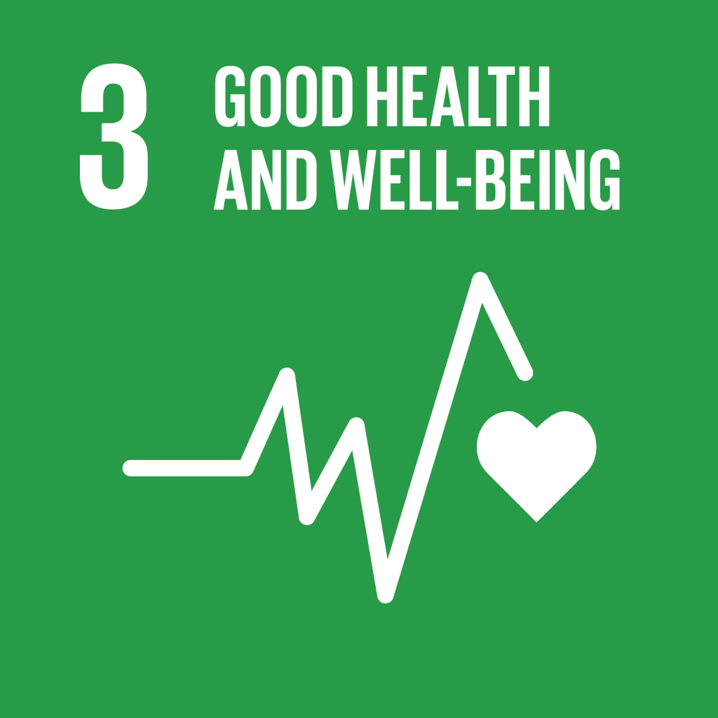 An image of UN Sustainable Development Goal 3