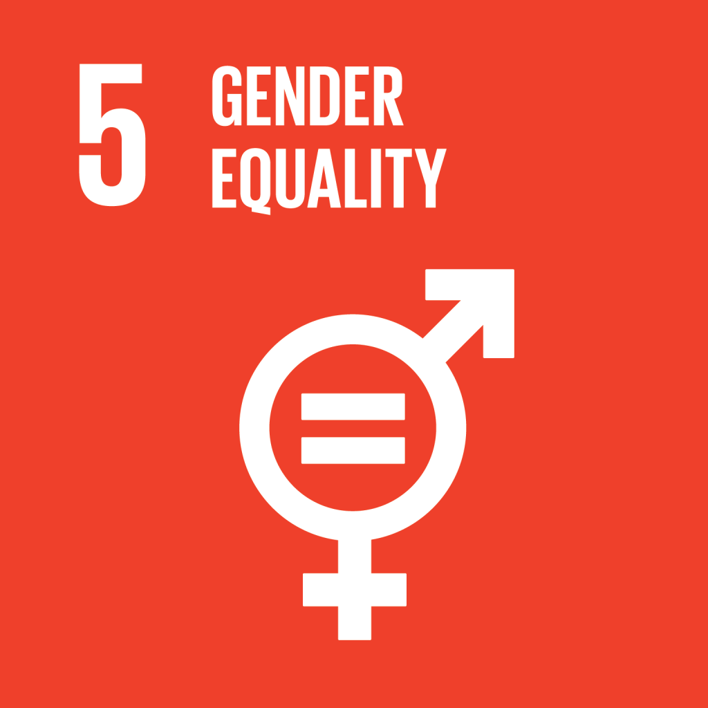 An image of UN Sustainable Development Goal 5
